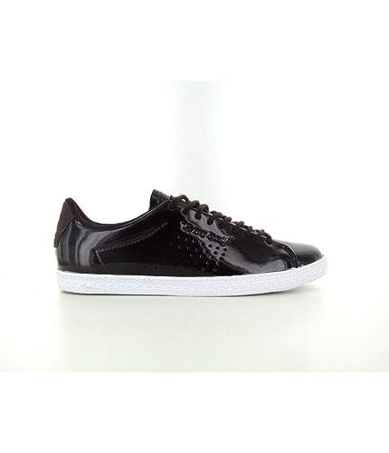 Le Coq Sportif Charline Coated S Femme Chaussures Violet  Amazon.fr   Chaussures et Sacs 4578d4ee2613