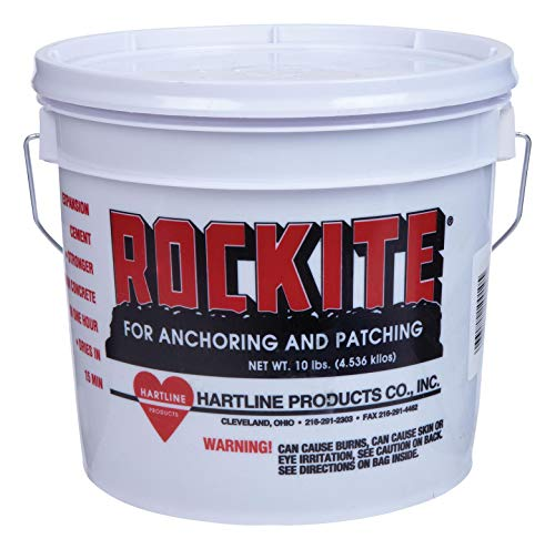 (HARTLINE PRODUCTS CO INC Rockite 10010 10 Lb Rockite Fast-Setting Cement)