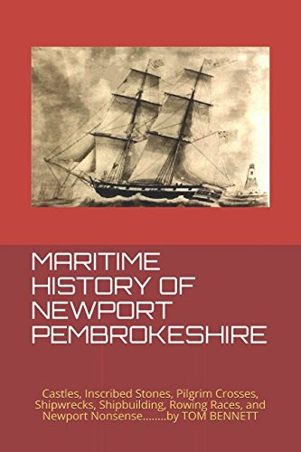 MARITIME HISTORY OF NEWPORT PEMBROKESHIRE: Castles, Inscribed Stones, Pilgrim Crosses, Shipwrecks, Shipbuilding, Rowing Races, and Newport Nonsense. Inscribed Cross