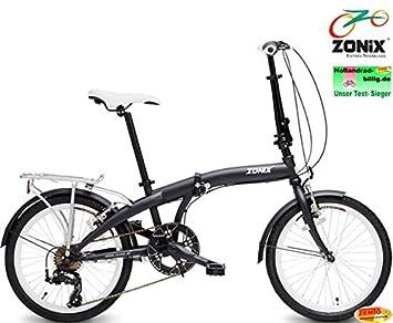 Bicicleta plegable para Zonix 7 velocidades 20 pulgadas