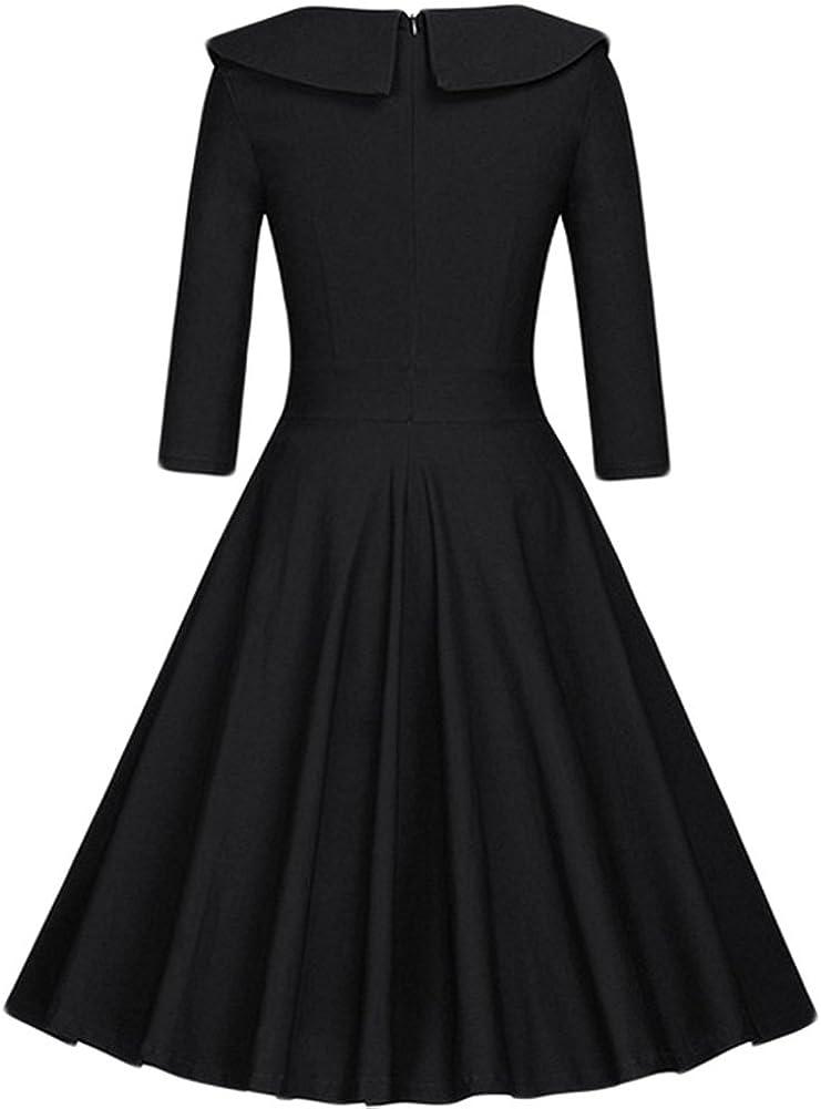 Abiti Da Cerimonia Joel.Minetom Vestito Dress Donna Mini Abito Da Festa A Pois A Line Anni