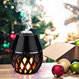 essential oil diffuser package - 150ml Mini Aroma Essential Oil Diffuser, Ultrasonic Cool Mist Humidifier with Auto Shut-off and Flick Flame Led Lamp Function for Office Home,Yoga Spa,Office,Baby Room