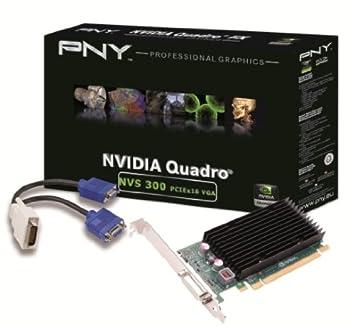 PNY VCNVS300X16VGA-PB NVIDIA NVS 300 0.5GB - Tarjeta gráfica ...