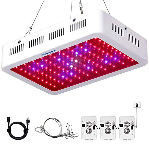 Roleadro Grow Light, 1000W LED Grow Light Full Spectrum Galaxyhydro Series Plant...