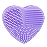 Shensee Makeup Brush Cleaner Glove Silicone Fashion Cleaner Egg (Purple)