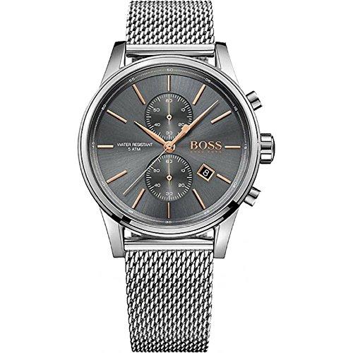Hugo Boss Hugo Boss 1513440 Gray / Silver Stainless Steel Analog Quartz Men's Watch