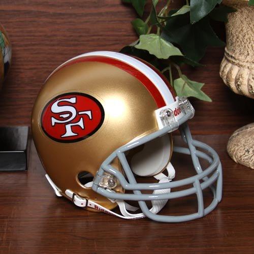 San Francisco 49ers 64-95 Riddell VSR4 Mini Replica Football Helmet