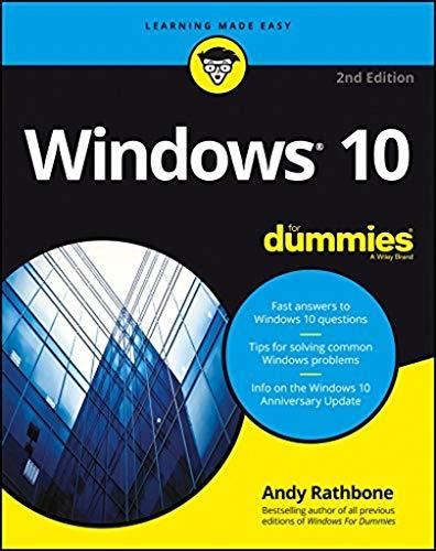 Windows 10 For Dummies (Computer For Dummies Windows 7)