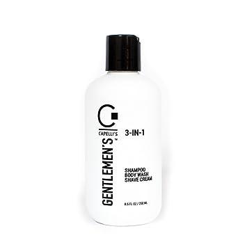vendita ufficiale economico in vendita pensieri su Amazon.com: Capelli's Gentlemen's 3-IN-1 Shampoo/Body Wash ...