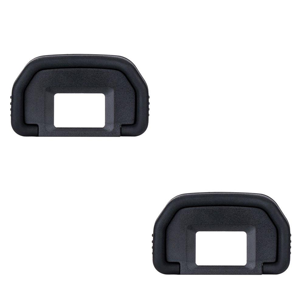 2 Visores Oculares para Canon EOS 80D 70D 60D 77D 50D 5D 5D Mark II 6D 6D Mark II 40D 30D 20D 20Da 10D 60D A2 A2E D30