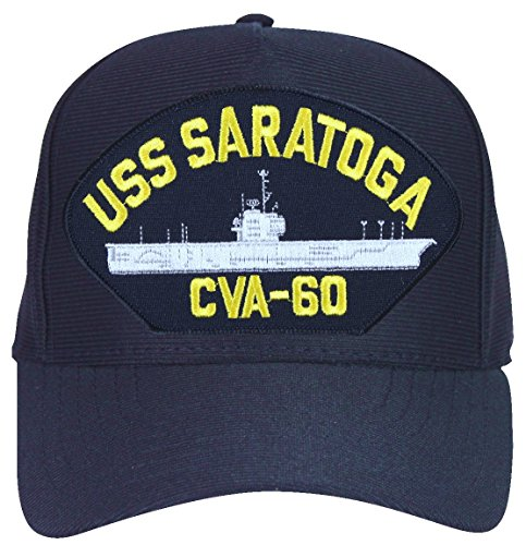 MilitaryBest USS Saratoga CVA-60 Ships Ball Cap