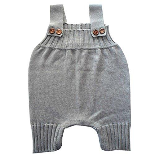 Wennikids Baby Girls Boys Sweater Shoulder Strap Romper Large - Delivery Usps Rates