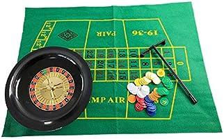 cheerfulus-123 Juego de fichas de póker de Ruleta de 10 Pulgadas ...