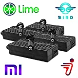 Heavy Duty 4 Pack Bird Lime Electric Scooter Chargers UL Certified Compatible with Xiaomi Mijia m365 Segway Ninebot ES 1 2 4 by Titan Pack