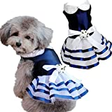 Hot Cute Puppy Pet Dog Tutu Dress Lace Skirt Cat Princess Dress Small Dog Wedding Party Dress Clothes