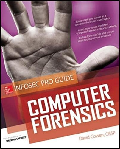 Book Computer Forensics InfoSec Pro Guide (Networking & Communication - OMG)