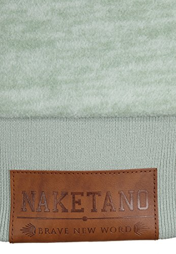 Naketano Female Hoody Dirty Bitch Yeah Milky Green Melange, L