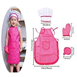 Kids Chef Role Play Costume Set Includes