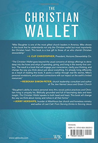 The Christian Wallet Spending Giving And Living With A Conscience