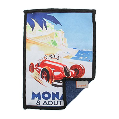 Smartie Microfiber Cleaning Cloth - for Tablets, Screens, Lenses, and Glasses (Grand Prix of Monaco)