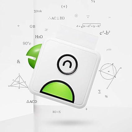 Amazon.com: Mini Portable Bluetooth Wireless Paper Photo ...
