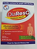 DiaResQ Diarrhea Relief, Vanilla, 3 Packets Each(Pack of 12)