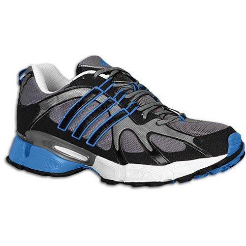 Adidas Mens Firepower Trail Scarpa Da Corsa Dark Cyber / Air Force Blu / Nero