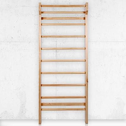 Nova - Escalera de Madera para niños y Adultos - 195 x 80 x 14 cm, hasta 100 kg de Carga - Espaldera Individual para Gimnasio: Amazon.es: Deportes y aire libre