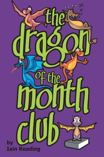 The Dragon of the Month Club is a good mix of adventure and fantasy that middle grade readers will enjoy.  Ayana and Tyler, two tweens, become fast friends amongst dusty bookshelves in the back corner of the library. In their corner, Ayana and Tyler come across a magical book that allows them to conjure dragons. While their first attempts to conjure dragons go well, a mishap when conjuring a new, special dragon pulls Ayana and Tyler into a fantasy world created by the books scattered around Tyler's bedroom. Stuck in a world of forests, oceans, islands, deserts, and cities filled with book-inspired characters and villains, the two friends and their band of dragons must find their way home.