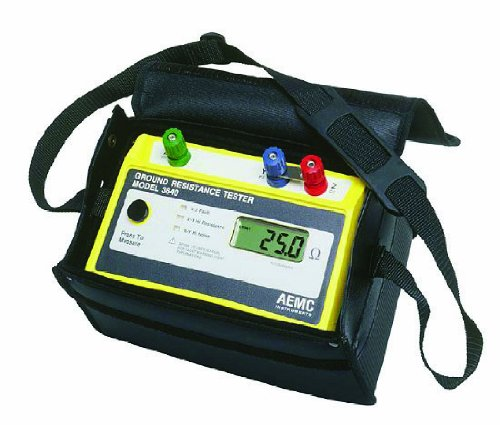 AEMC 3640 3-Point Digital Ground Resistance Tester Kit - Three Point Reversal