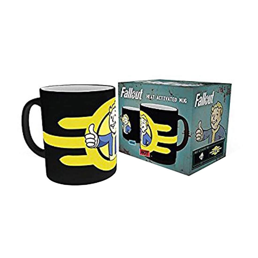 Fallout - Mug effet thermique Vault Boy gb eye MGH0029