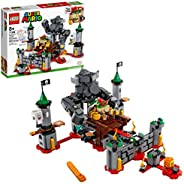 LEGO Super Mario Bowser's Castle Boss Battle Expansion Set 71369 Building Kit; Collectible Toy for Kids to Cus