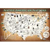 Native American Nations: Our Own Names and Original Locations (24x36-standard frame size)