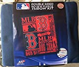 The Northwest Company MLB Boston Red Sox Double Sided No Sew Fleece Blanket Kit