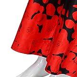 ManxiVoo Womens Plus Size Casual Wide Leg Trousers