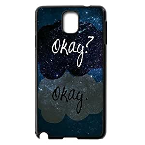 C-EUR Customized Print Okay Okay Hard Skin Case Compatible For Samsung Galaxy Note 3 N9000