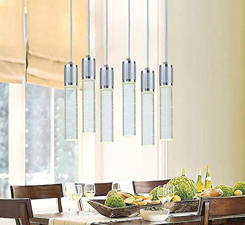 FidgetKute LED Bubble Crystal Ceiling Light Dining Room Pendant Lamp Lighting Chandelier Single-headsingle-Head by FidgetKute (Image #4)