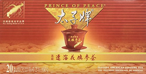 Prince of Peace Ginseng Tea Value Pack