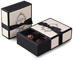4 Cavity Effiel Tower Chocolate Gift Packaging Box Wedding Party Paper Favor Boxes-Set of 10 (Effiel Tower)