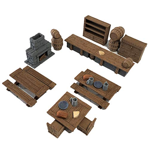 Deluxe Tavern Set - 28mm Scale Terrain