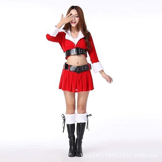Shisky Disfraz de Navidad Adulto, Navidad Disfraz Santa ...