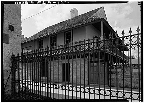 Photo: Don Raimundo Arrivas House,44 S George St,Saint Augustine,St. Johns - Shopping Augustine Map St