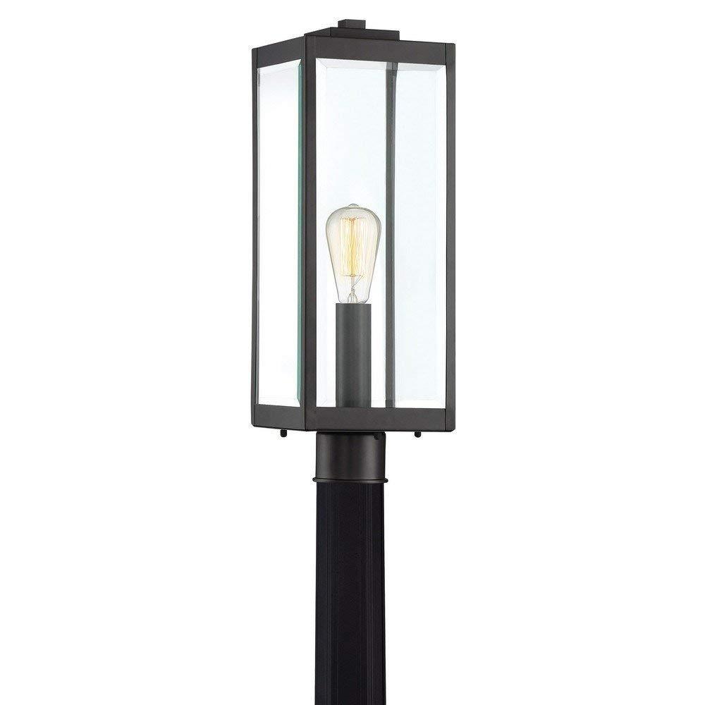 Quoizel WVR9007EK Westover Lantern Outdoor Earth Black