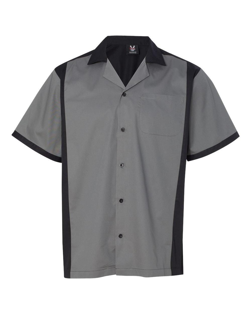 Hilton HP2243 - Cruiser Bowling Shirt Steel by Hilton