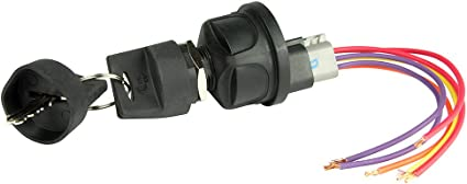 Cole Hersee 4 Position Sealed Ignition Switch
