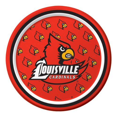8-Count Round Paper Dessert Plates, Louisville (Imagine Round Bowl)