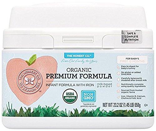 The Honest Co  Organic Non Gmo Premium Infant Formula With Iron  23 2 Ounce