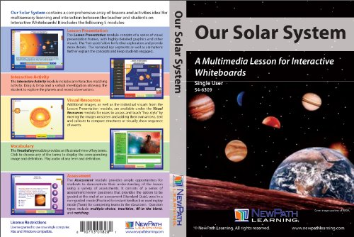 NewPath Learning Our Solar System Multimedia Lesson, Site ...
