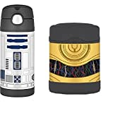 Star Wars R2D2 Bottle & C-3PO Food Jar Funtainer Thermos Set by Star Wars