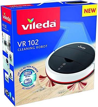 lgvshopping Robot Vileda VR 102 Aspiradora silenciosa con sensores ...